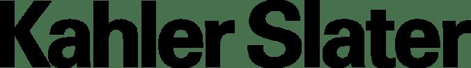 Kahler Slater Logo Black